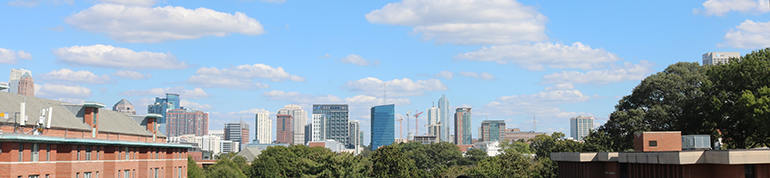 Midtown Skyline from West Campus